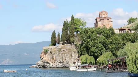 macedonian : Jovan Kaneo church Ohrid Macedonia landscape
