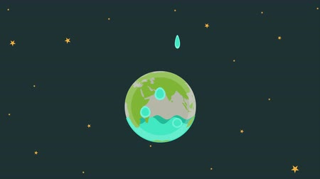 broşür : Save Water Animation