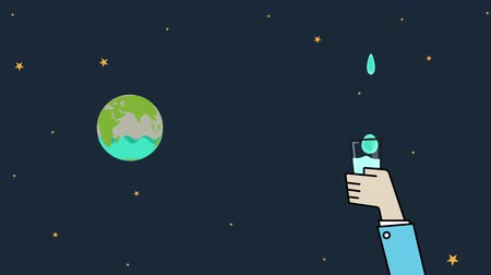 brochura : Save Water Animation