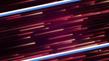 denominado retro : Pink yellow stripe line modern fun social media retro disco neon future background. Ideal for blue isometric text title advertise. Stock Footage