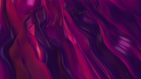 tiyatro : Modern gradient mobile phone dark purple yellow pink color wave background. Infinite loop cycle sequence.
