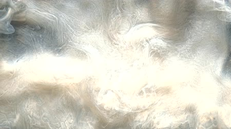 blending : Steam leak. Mysterious fume. Pearl white abstract smoke flow.