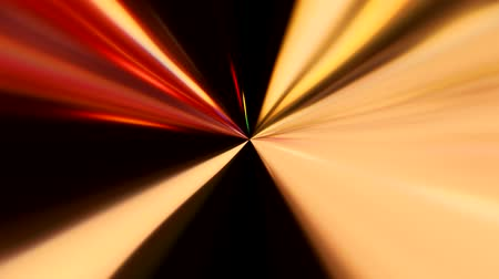 hyperspace : Beams glow motion. Hyperspace travel. Blur neon multicolor rays flow on dark background for title.