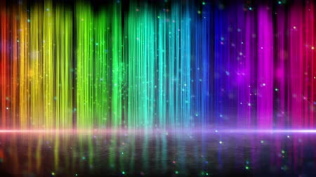 színek : rainbow color stripes abstract loopable background