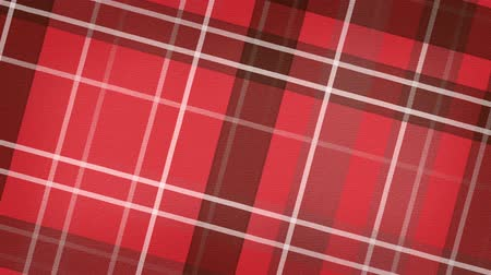 pléd : red scottish checked fabric loopable background