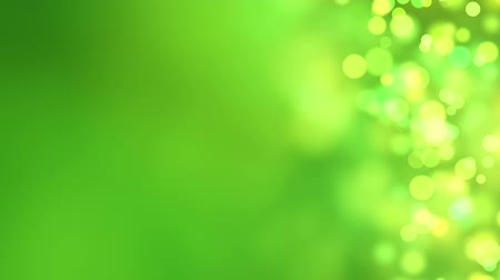 зеленый фон : loopable abstract background green bokeh circles