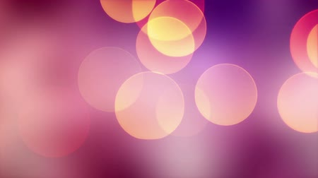 big bokeh lights. computer generated seamless loop abstract motion background. HD 1080p