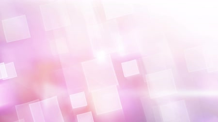 parlayan : pink shiny squares. Computer generated seamless loop abstract motion background