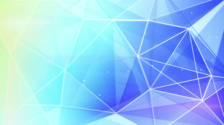 trójkąt : abstract triangle geometrical blue background loop