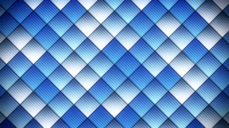 geométrico : geometric pattern of blue squares. computer generated seamless loop abstract motion background