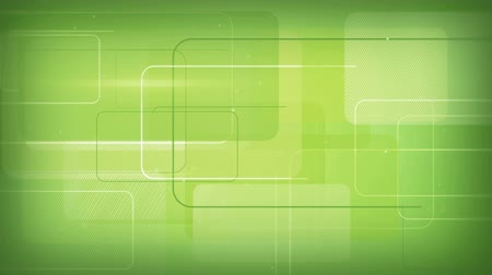 ciberespaço : green rectangular shapes seamless loop background 4k 4096x2304 Vídeos