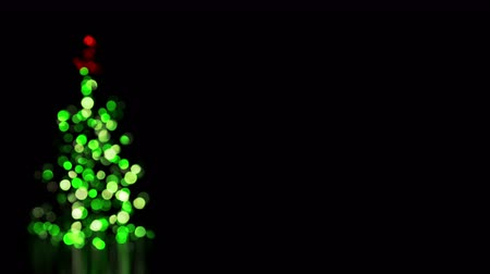 ünnepies : blurred christmas tree lights seamless loop 4k 4096x2304