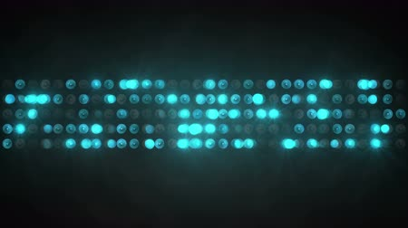 sel : blue light show panel. computer generated seamless loop abstract motion background. 4k 4096x2304