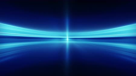 prędkość : Blue blurred lines. Seamless loop abstract futuristic background 4k (4096x2304) Wideo