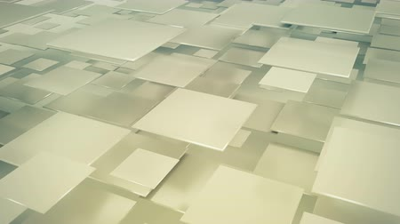прямоугольник : Flying squares abstract geometric background. Seamless loop 3D render animation 4k UHD 3840x2160
