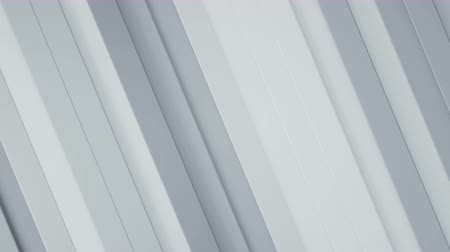 stroke : Diagonal white stripes. Abstract geometric background. Seamless loop 3D render animation 4k UHD 3840x2160
