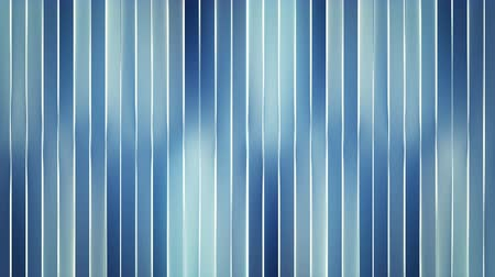 vertical stripes : Glowing blue vertical bars. Seamless loop abstract motion background. 3D render animation 4k UHD 3840x2160