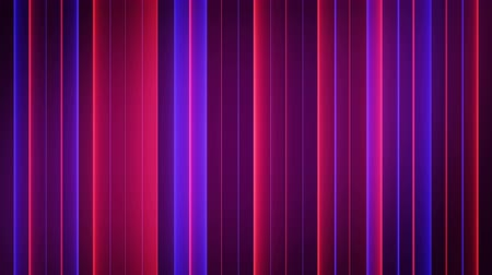 vertical stripes : Neon red and blue strips. Seamless loop abstract motion background. 3D render animation 4k UHD 3840x2160 Stock Footage