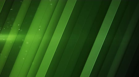 stroke : Diagonal stripes and green light flares. Abstract geometric background. Seamless loop 3D render animation 4k UHD 3840x2160