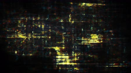 distorsiyon : Pixel noise glitch effect with interference. Flickering display with no signal. Seamless loop animation