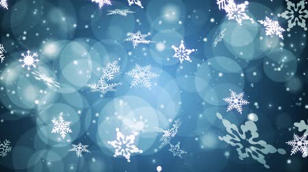 pré natal : Winter Time CG Footage with snowflakes pattern design