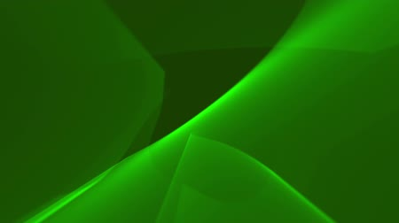 вектор : Dark green background. Glowing green shapes smoothly flowing one into another Стоковые видеозаписи