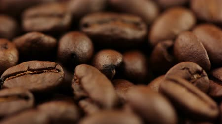 kahve çekirdeği : Background. Roasted coffee beans close-up