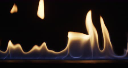 dizilirler : line of fire, burning alcohol  close up