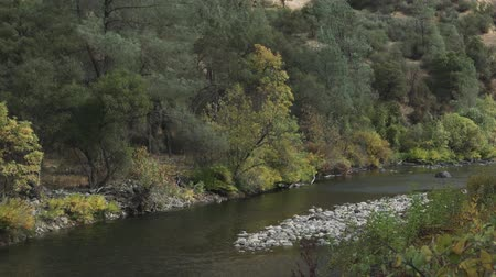 lanscape : merced river landscape in daytime in autumn