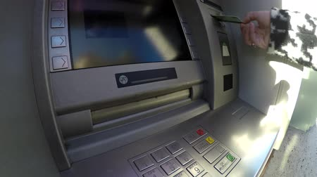 bankomat : An automated teller machine automatic teller machine or ATM also known as automated banking machine cash machine cash point cash mini line banking bankomat or colloquially hole in the wall getting money 4k