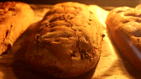 forno : timelapse baking the three kind of bread