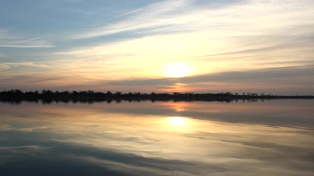 lasting : beautiful lake sunrise
