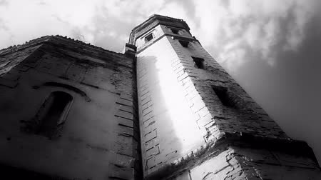 zamek : Castle Tower in Ecka village in Serbia,  multiple shots