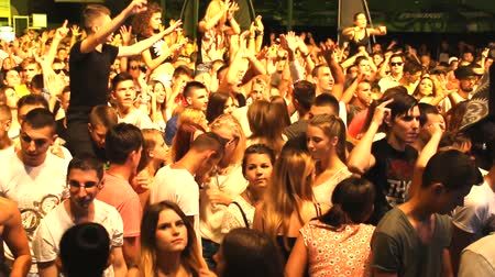 koncert :  music crowd fans audience  concert dj festival