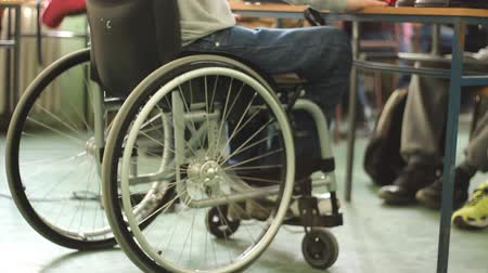 paraplegic : wheelchair, the man in wheelchair