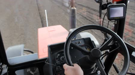 trator : Driving tractor POV Stock Footage