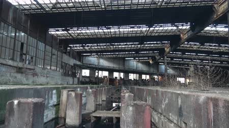 Abandoned Ruin train factory