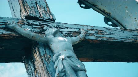 crucified : Jesus Christ Vintage cross