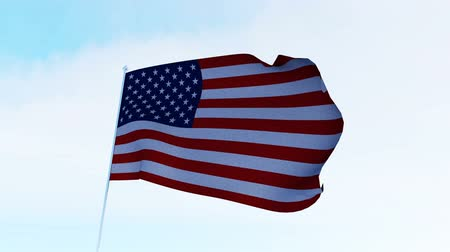 usa independence day : USA American Flag. Alpha matte