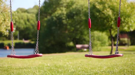 recreational park : children Playground swings park