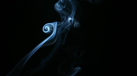 barvivo : blue smoke dark background hd footage