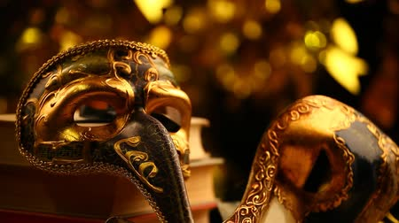 carnaval de venise : masque or bokeh images HD