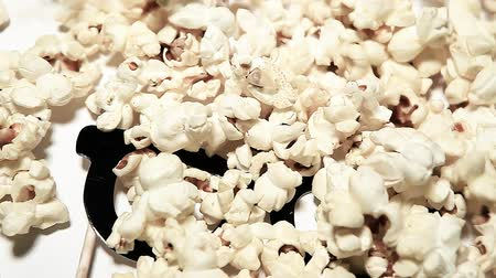 pop corn : pop corn paper mask background hd footage Filmati Stock