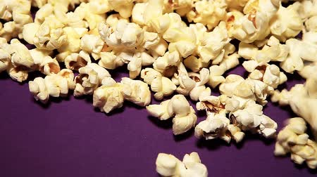snack : pop corn background nobody hd footage