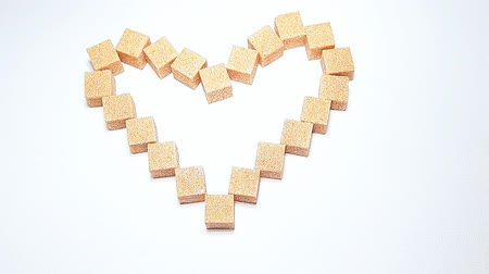 sweetener : cane sugar heart symbol