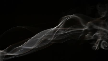 mystik : footage of smoke dark background