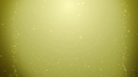 viski : Seamless animation of abstract gold champagne or beer or brandy water with bubble flowing background texture pattern in 4k loop Stok Video