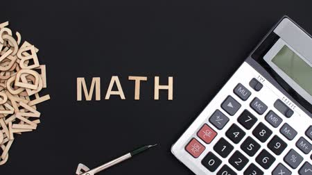 disparition : Concept de maths