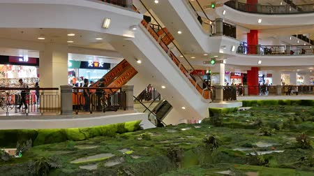 fashion outlet : Kuala Lumpur,Malaysia -April 20,2019 : Berjaya Times Square is a shopping centre complex in Bukit Bintang, Kuala Lumpur. People can seen exploring and shopping around it.