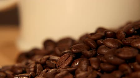 low lighting : Coffee Bean Tracking Shot